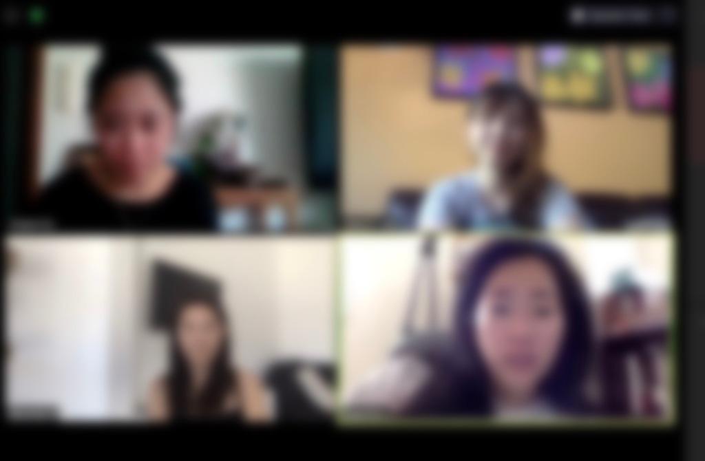 세계 곳곳에 있는 친구들과 오랜만에 Zoom을 통해 영상 통화를 해보았다.