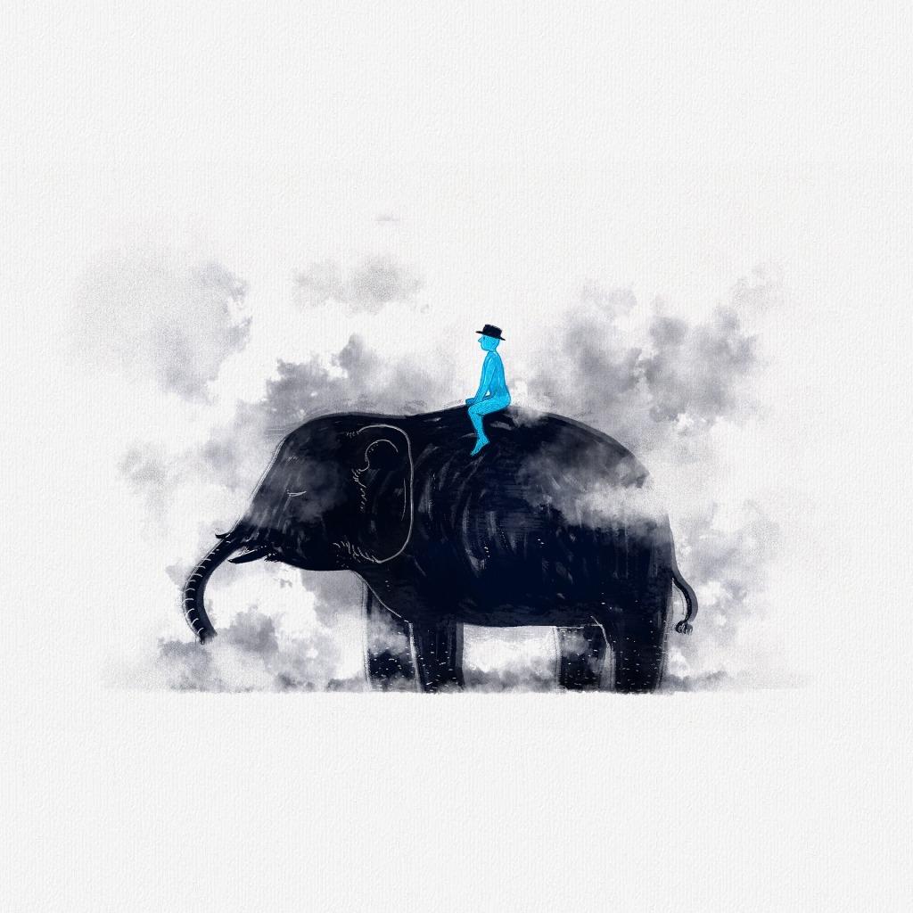 우리 모두 마음 한켠에 잘 드러나지 않는 코끼리가 살고 있다고 한다