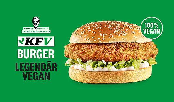 대형 프렌차이즈도 비건이다. 독일 KFC의 비건버거