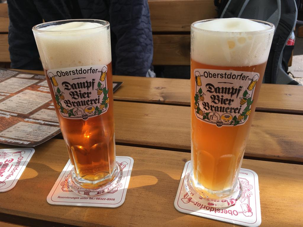 알프스지역 오버스트도프에서 즐길 수 있는 맛있는 독일 맥주, Dampf Bier Brauerei