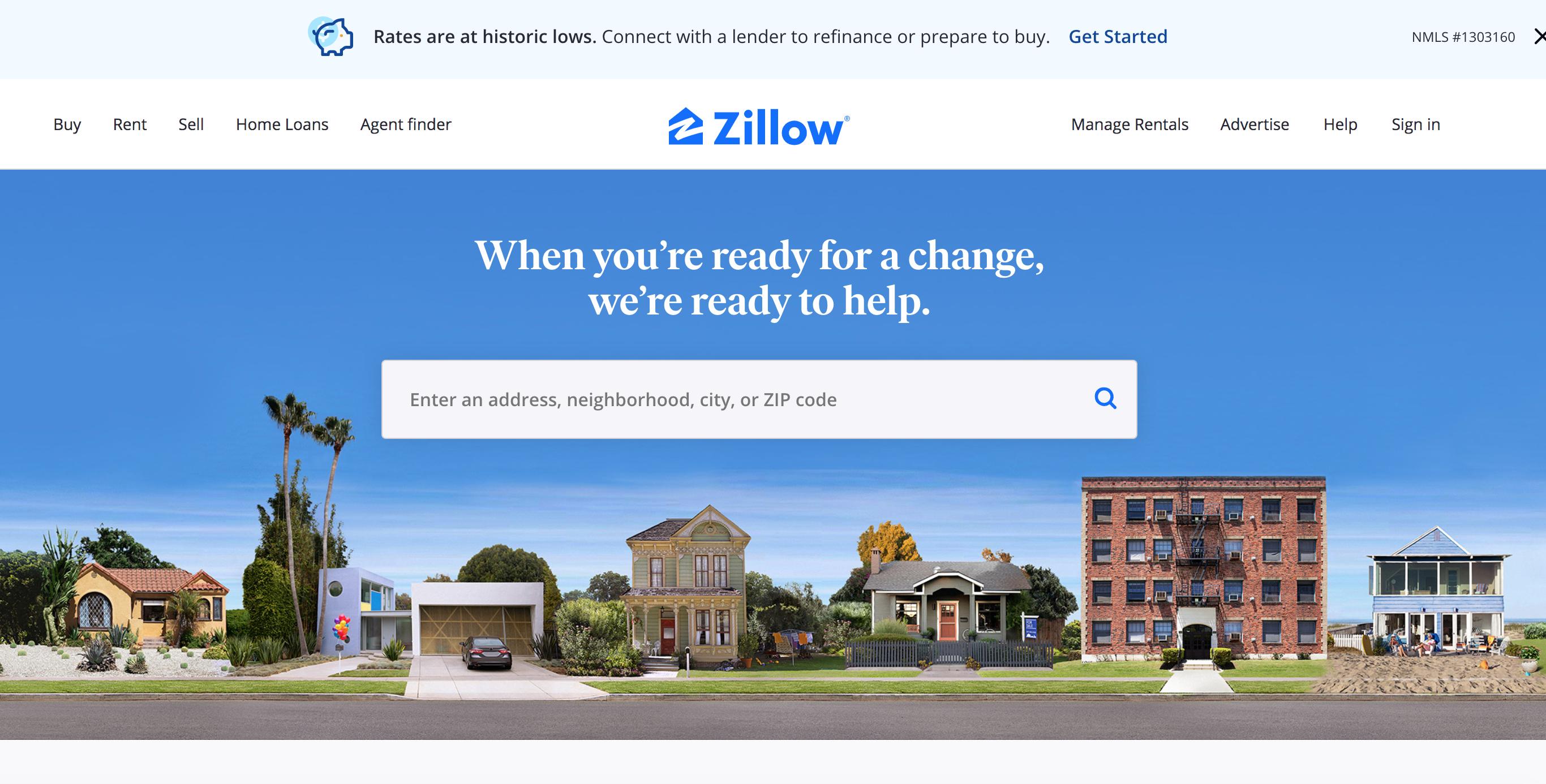 미국 부동산 플랫폼 Zillow